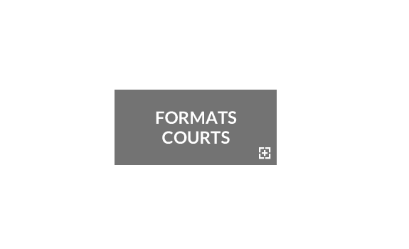 Formats Courts - Jeudi 15 Films